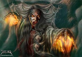Belphegor Dark Mage by jarling-art
