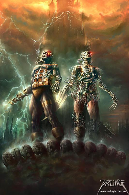 Cyborgs by jarling-art