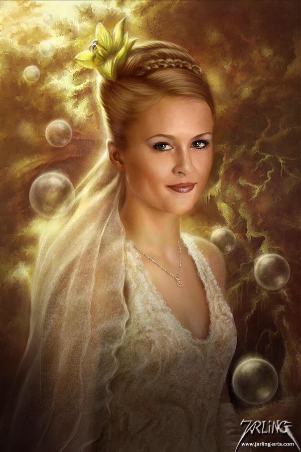 Ravishing Beauty by jarling-art