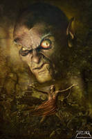 Demonic Evocation by jarling-art