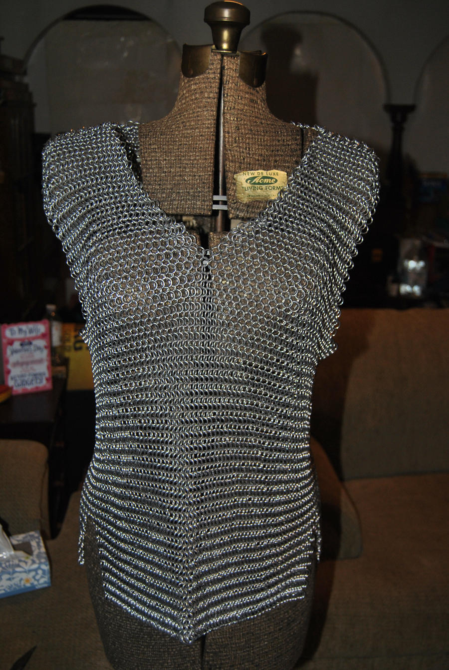 Chain Mail Shirt by severedflesh