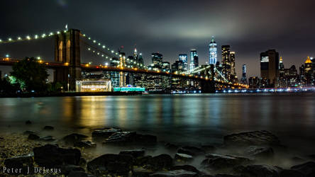 DUMBO Beach Night by peterjdejesus