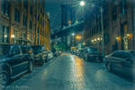Rainy Dumbo Streets by peterjdejesus