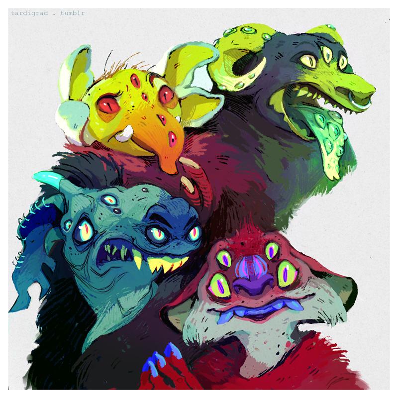 Merry Monster Mix by IbenKrutt