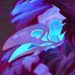Portrait: Skullbird