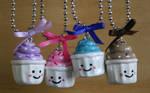 Kawaii Cupcake Necklaces