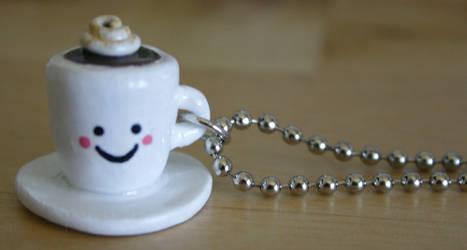 Kawaii Cappuccino Necklace