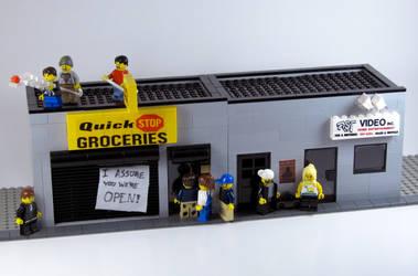 Clerks by getdamonkey