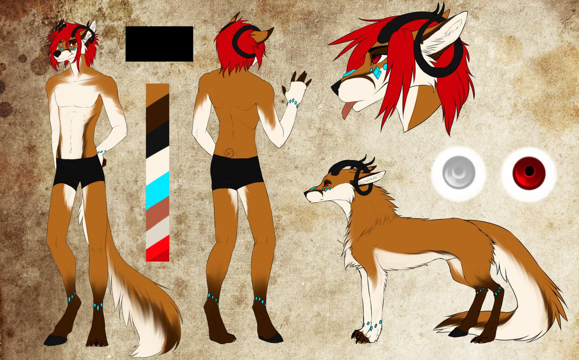 Miuga the Foxfaun (Refsheet) by Miuga