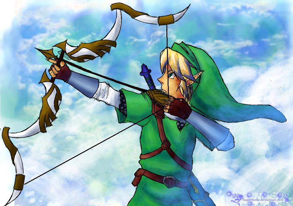 Skyward Sword Link By HyliaBeilschmidt