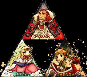 The Complete Triforce by HyliaBeilschmidt