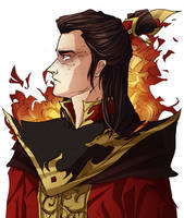 Fire Lord Zuko by HyliaBeilschmidt