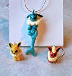 Eeveelution Jewelry Set