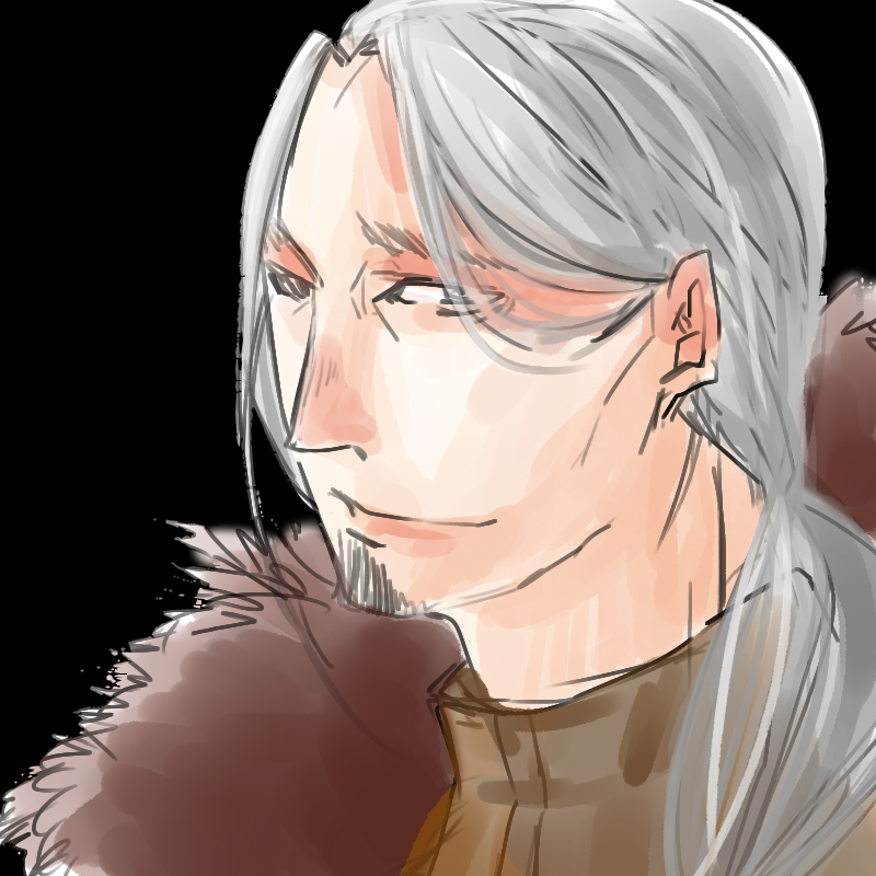 silver hair by b-sugary