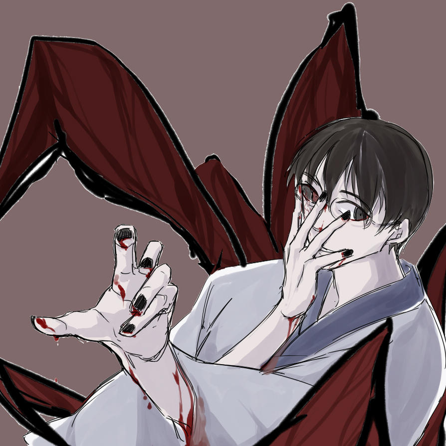 ghouled Shinpachi by b-sugary