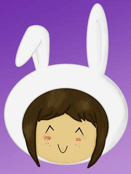 Me in a bunny suit