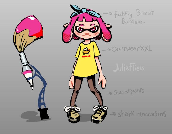 Squid kid!!