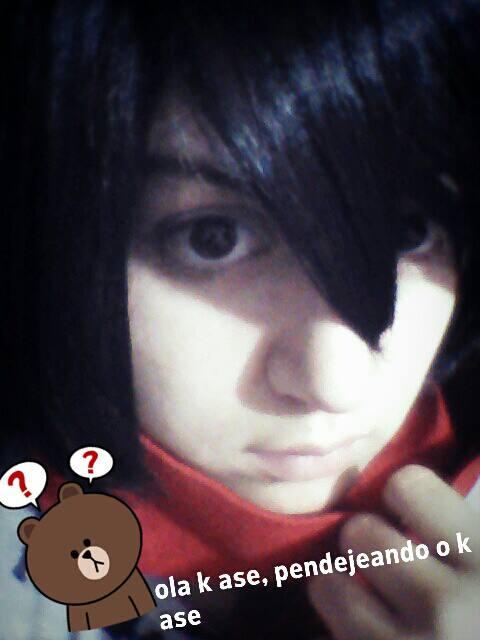 Mikasa Ackerman WIP (?) by naruvane-san