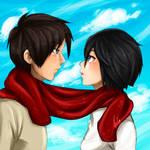 Eren and Mikasa 1