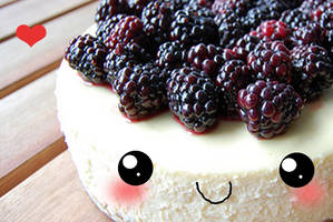 Rasberry Cheesecake+ by Mellosaur