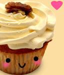 Banana Delight Cupcake