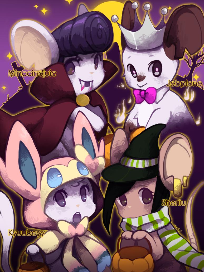 Happy Halloween! by Minccinojuic