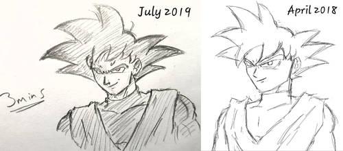 Goku Black Redraw