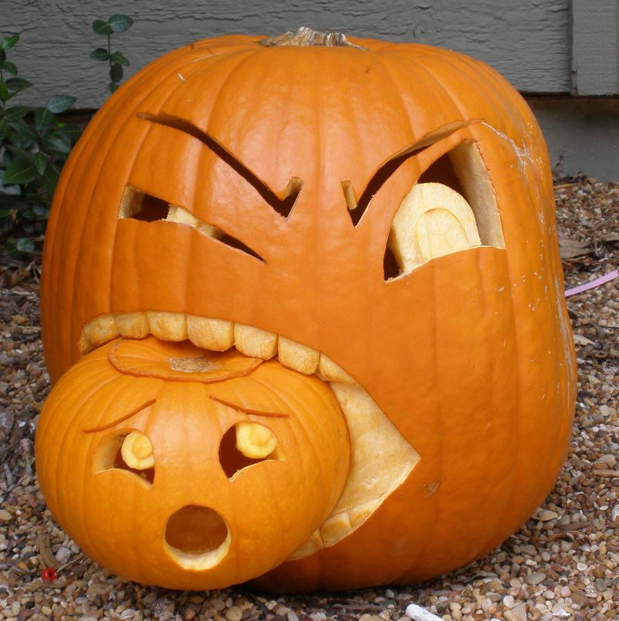 Canibalistic Pumpkin by Fhar
