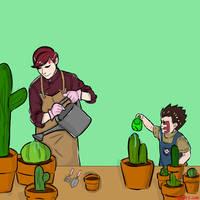 Gardening Time with Shinki