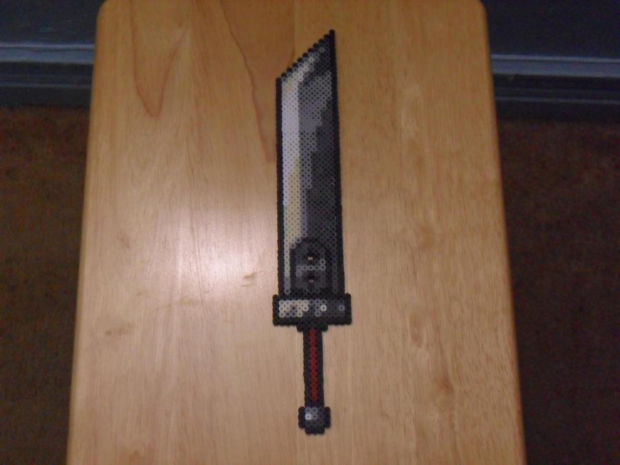 Buster Sword Perler By Mecharichter On DeviantART