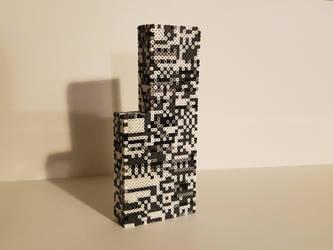 3D Missingno perler V2 by mecharichter