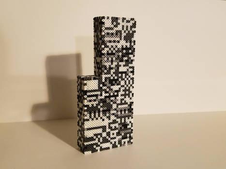 3D Missingno perler V2