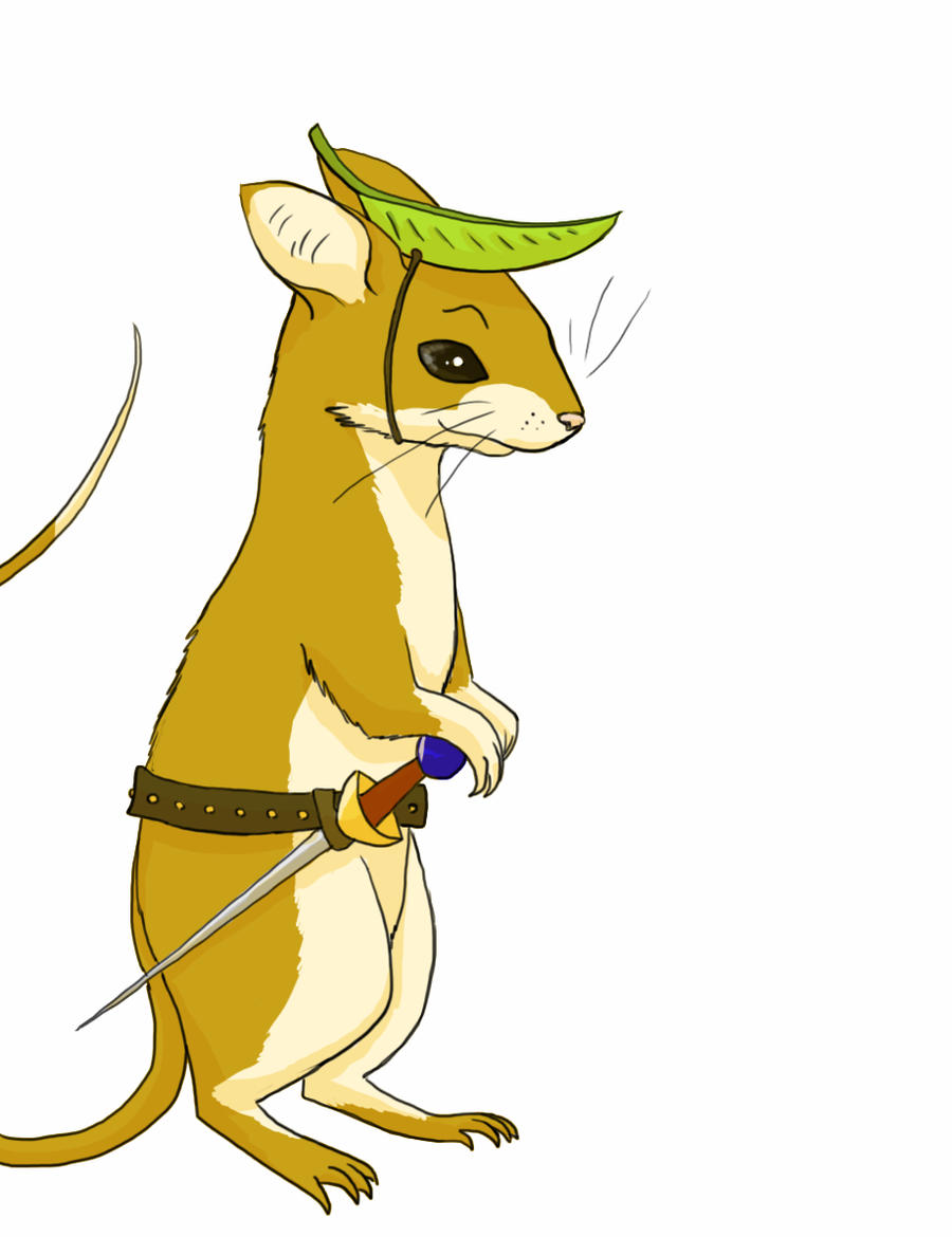 Mouse Scout by owlburrow