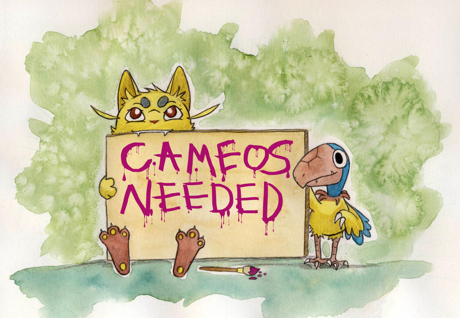 [CLOSED] Cameos needed by owlburrow