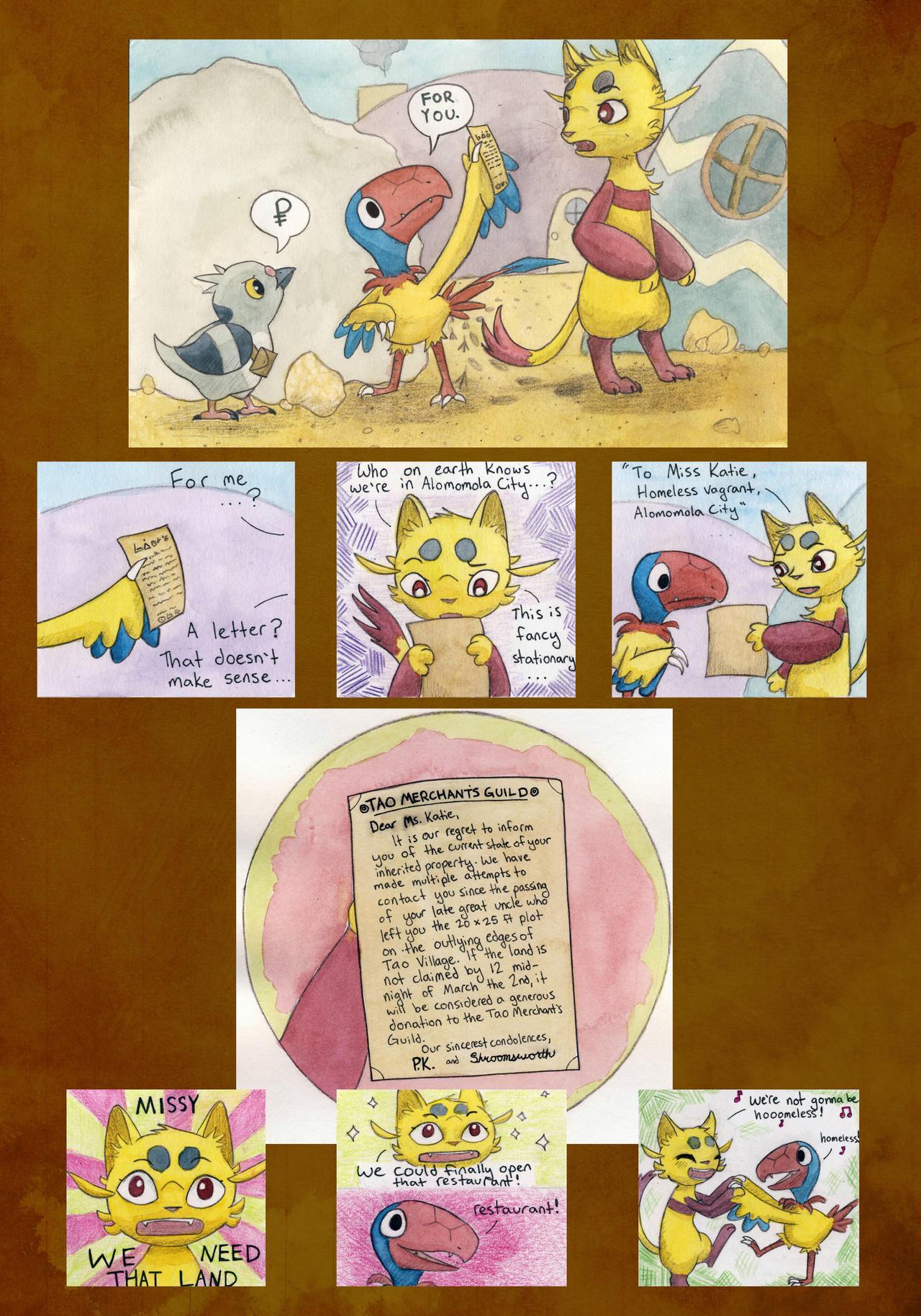 Mission 5: Page 1, Team BHTB by owlburrow