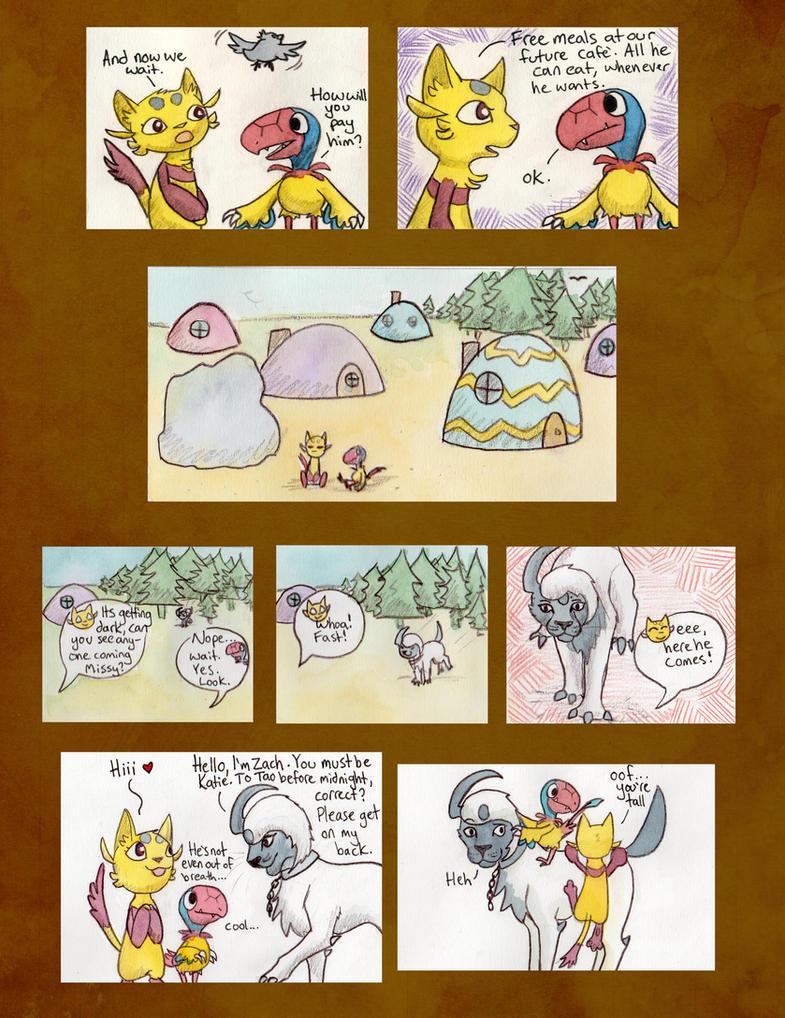 Mission 5: Page 3, Team BHTB by owlburrow