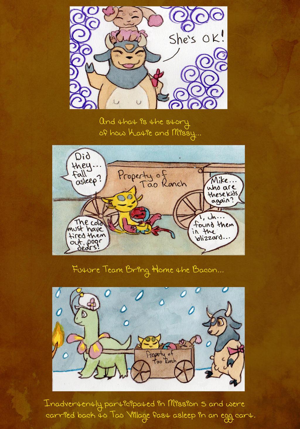 END Mission 5: Page 9, Team BHTB by owlburrow