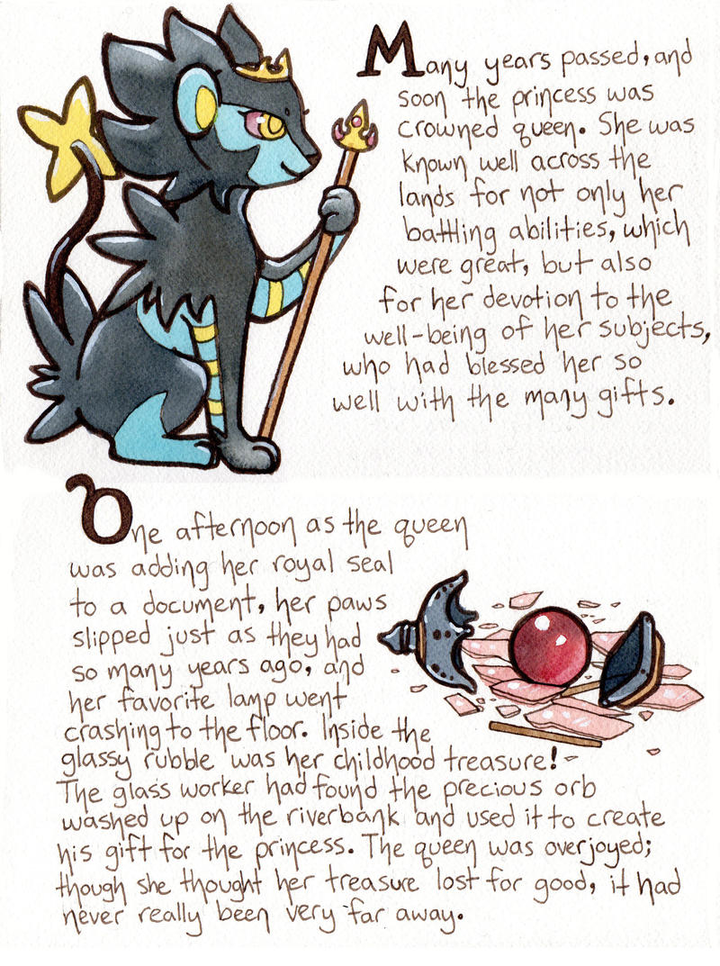Event 7 Page 5, The Princess's Orb by owlburrow