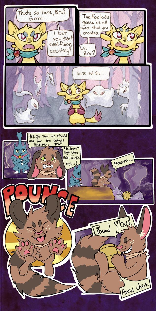 Mission 8, Page 8, Team BHTB and Team Cinnamon by owlburrow