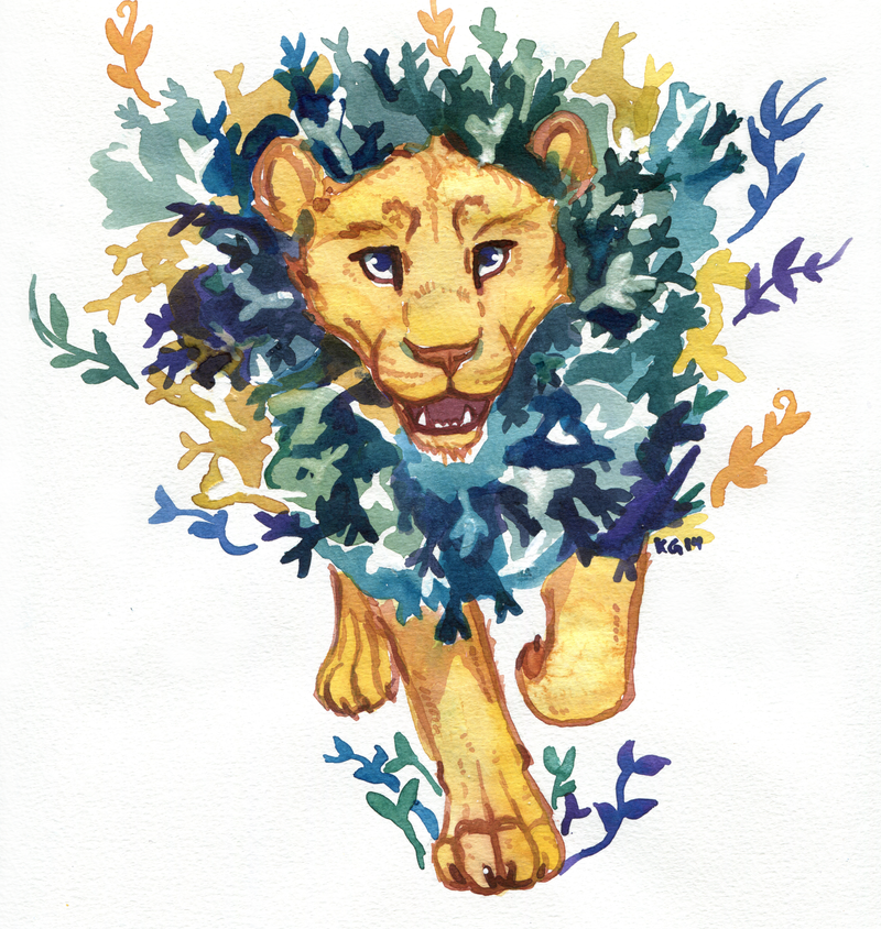 Aslan is on the move by owlburrow