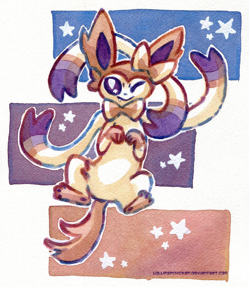 Sylveon in number 32 by owlburrow