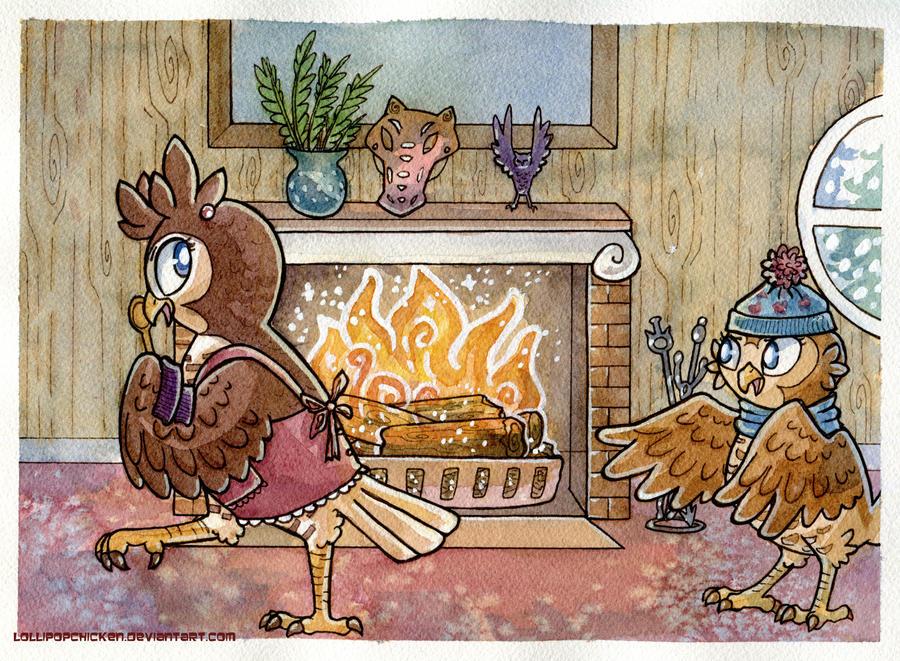Warmest Warm of all sneak peek 3 by owlburrow