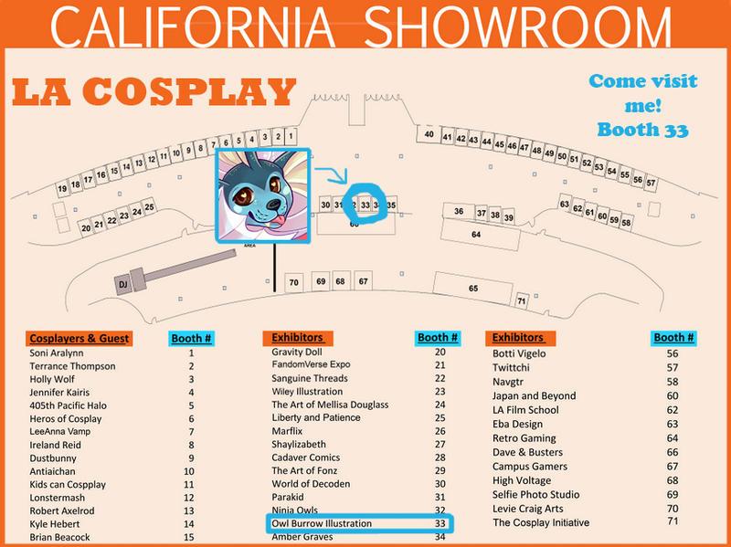LA Cosplay Con by owlburrow