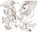 Dragon and Bird Friend