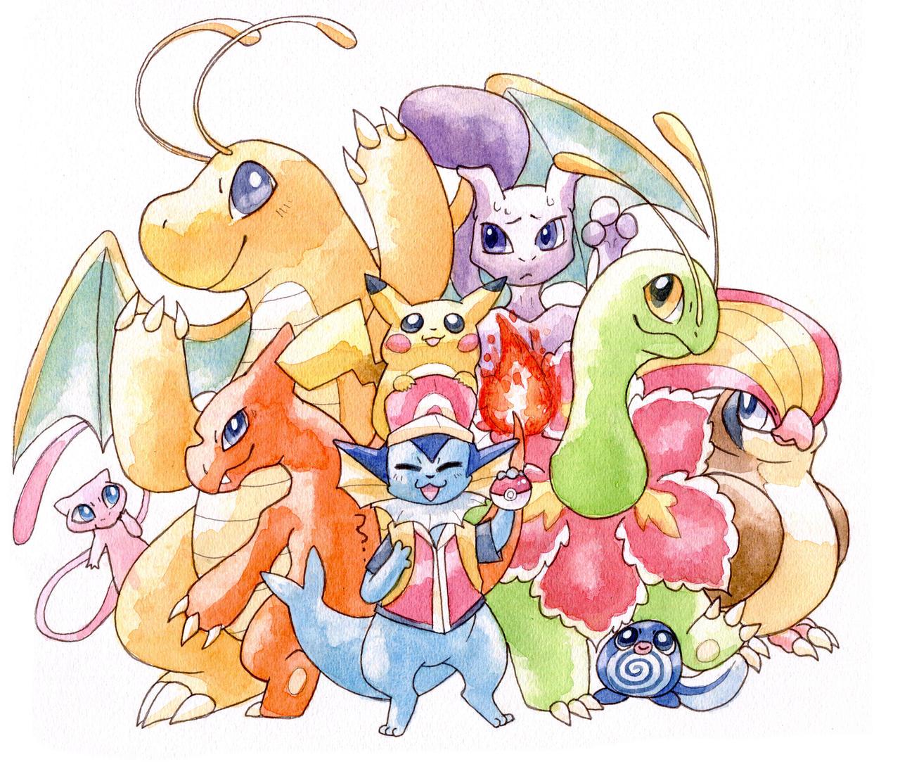 20 years of pokemon by owlburrow