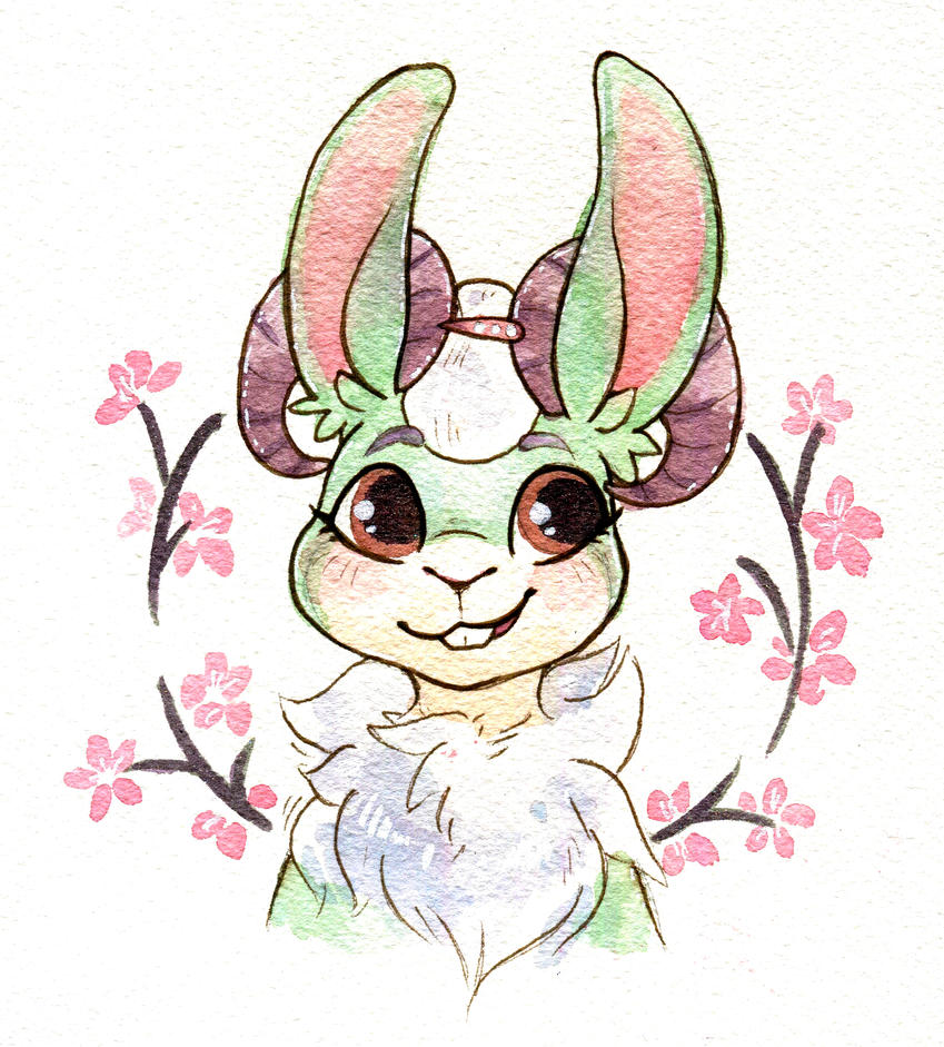 Cherry Blossoms by owlburrow