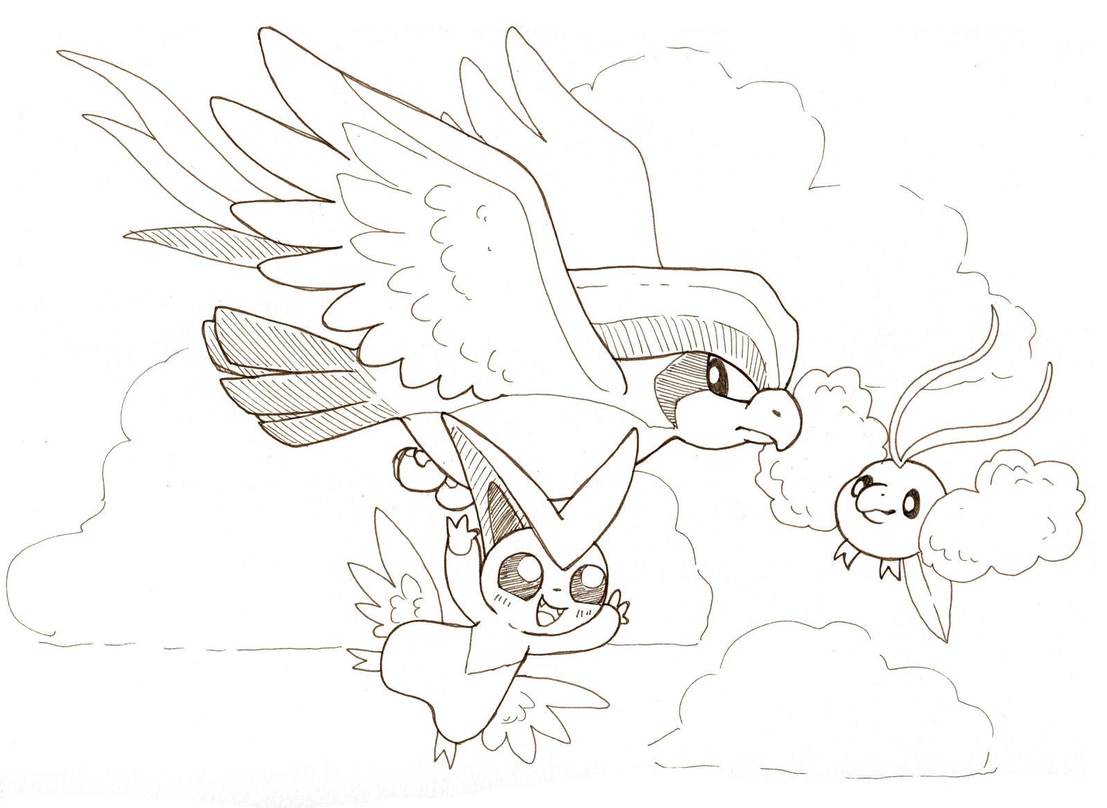 Friends by owlburrow