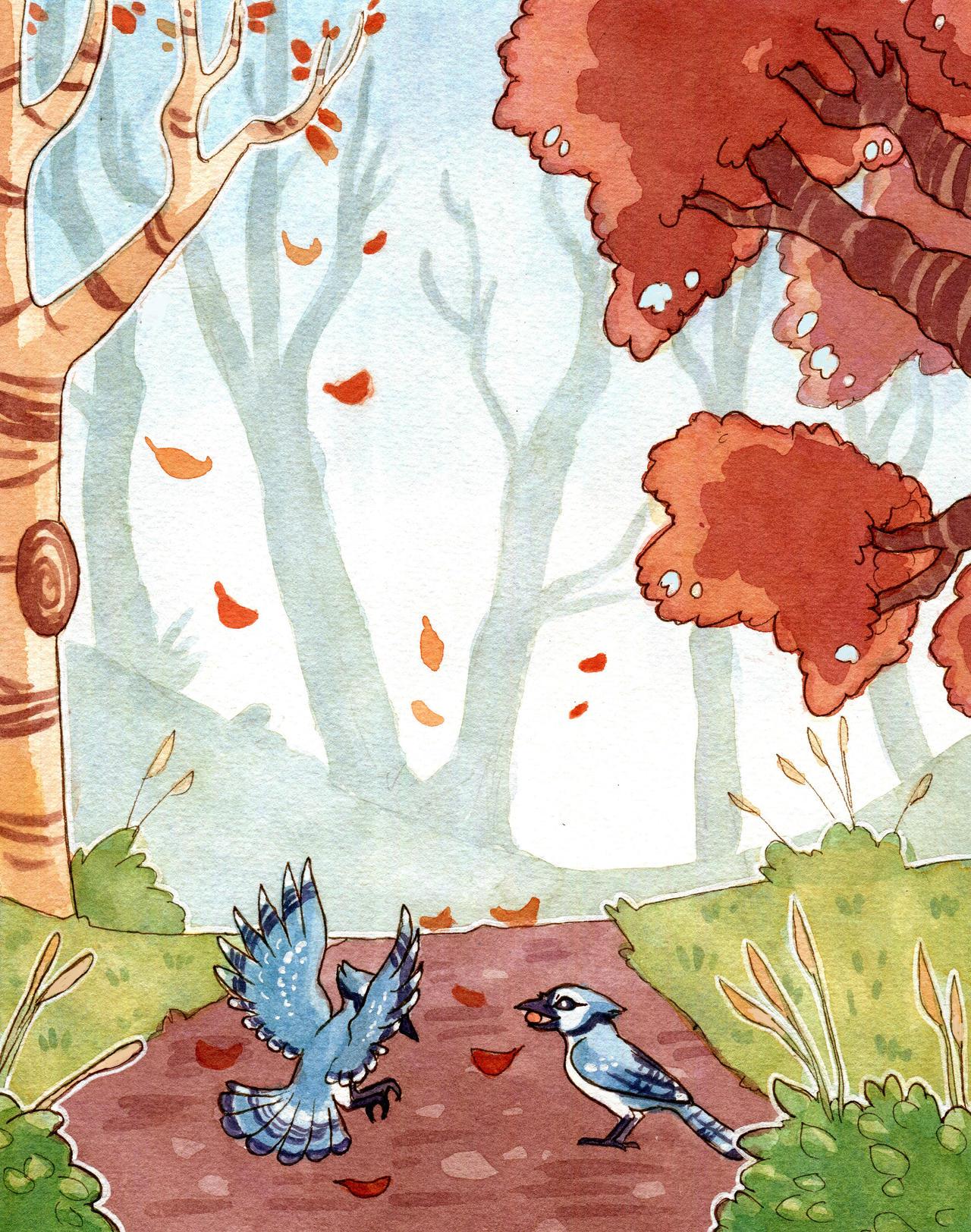 Fall by owlburrow