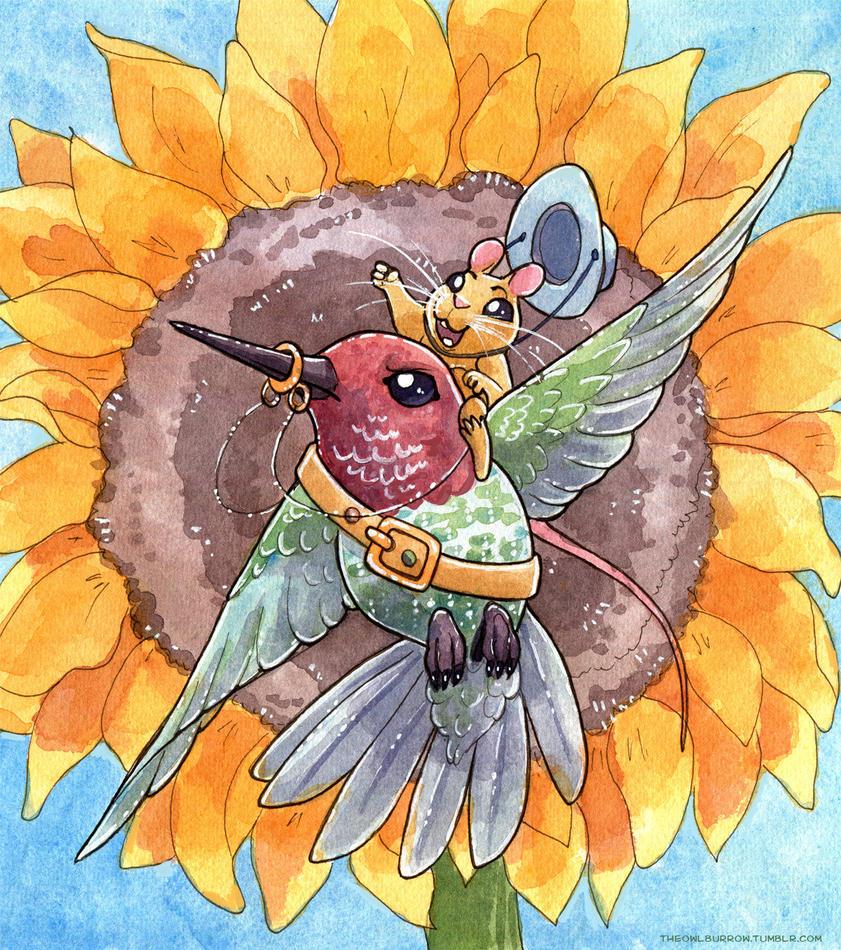 Hummingbird Bronco by owlburrow