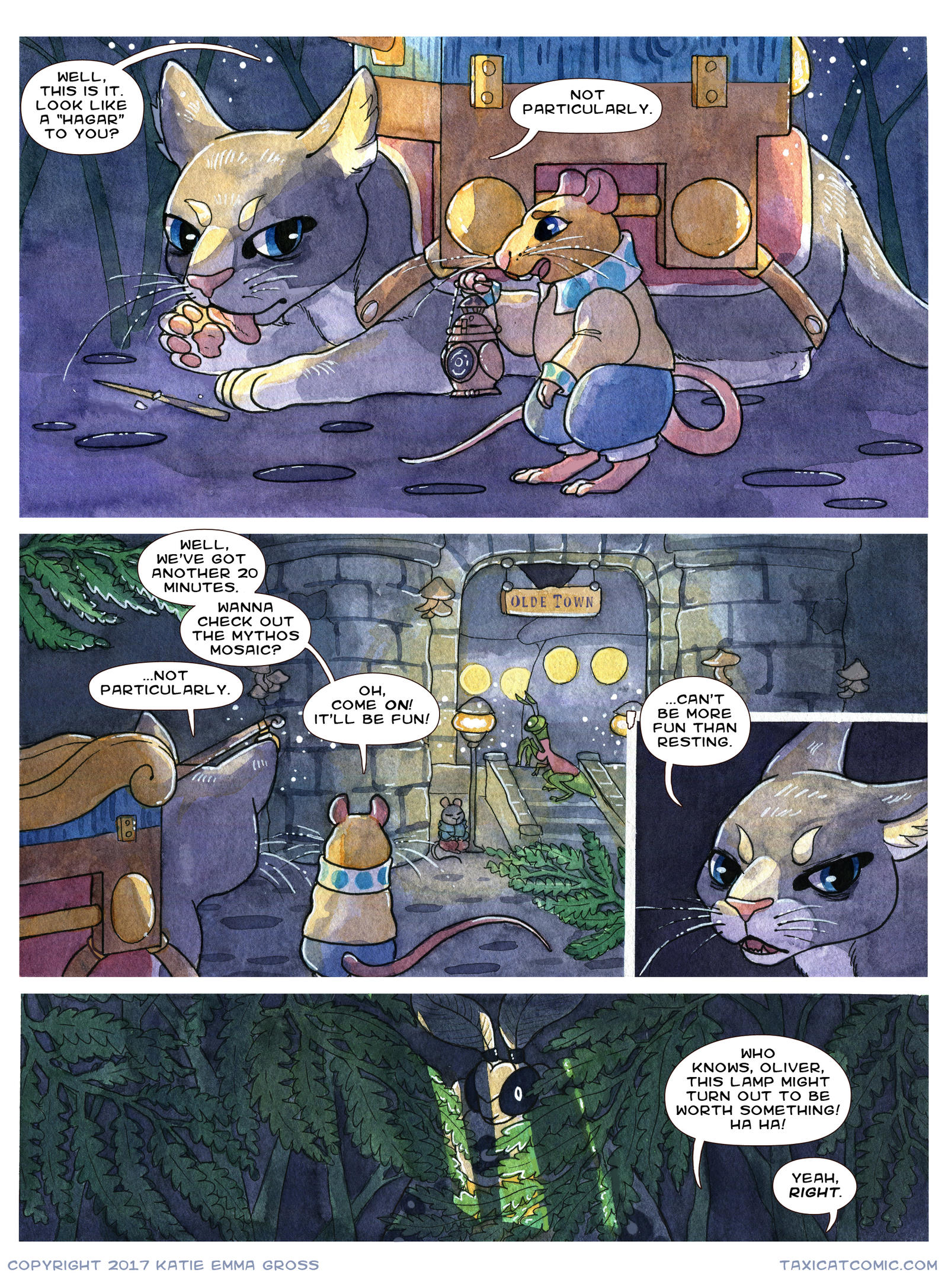 CH 1, Page 35- Lunchbreak by owlburrow